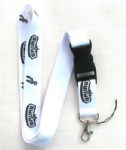 SPYRS White Logo Phone Lanyard Key ID Neck Strap