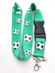 Football Lanyard ID card Phone Strap
