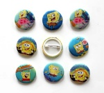 Spongebob 2.5cm badge