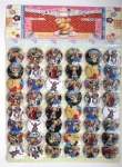 ONE PIECE  4.5cm badge new