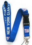 New York Giants mobile Phone lanyard Key chain