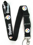 Pittsburgh Steelers Cell Phone Lanyard Key Card ID NECK STRAP