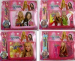 Hannah Montana wallet and watch set