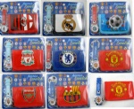 football club wallet and watch set
