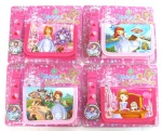Sofia the First wallet and watch set