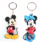 mickey minnie mouse  key chain