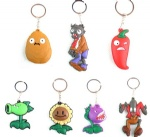 Plants vs. Zombies key chain