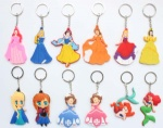 princess snow white Mermaid keychain