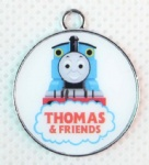 Thomas & Friends round pendant