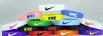 lot colors nike silicone bracelet
