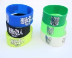 Attack on Titan silicone bracelet