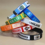 fabric bracelet football club all the world teams