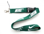 Blackish green Nike lanyard