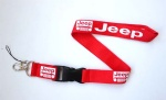 Jeep lanyard Red