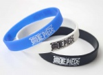 Popular Anime ONE PIECE Logo Wristband Silicone Bracelets