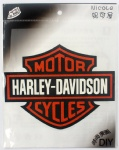 Big 20-16cm Harley Davidson Motorcycle Logo DIY Patch Sticker