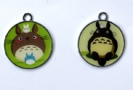 Anime My Neighbor Totoro Cartoon Metal Round Pendants