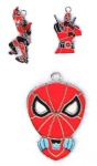 Marvel Comics Character Deadpool Metal Pendants Red