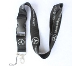 Mercedes-Benz Silver Logo Lanyard/Strap with buckle