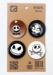 The Nightmare Before Christmas 4.3CM Badge and Buttons