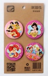 Disney Princess SNOW White 4.3CM Cartoon Badge and Buttons