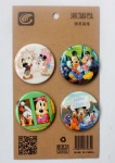 Disney Mickey Mouse/ Minnie Mouse 4.3CM Cartoon Badge and Buttons