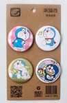 Doraemon Anime 4.3CM Cartoon Badge and Buttons