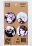 Anime Tokyo Ghoul 4.3CM Cartoon Badge and Buttons
