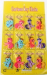Double-sided My Little Pony PVC Key Chain