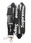 Supreme Lanyard Black