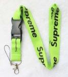 Supreme sup Lanyard Green/Black
