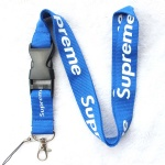Supreme sup Lanyard Blue/White