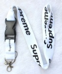 Supreme sup Lanyard White/Black