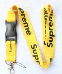 Supreme sup Lanyard Yellow/Black