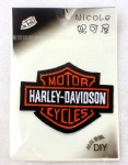Harley Davidson Logo DIY Fabric Patch Sticker