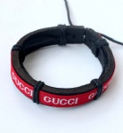 Gucci Tribal Leather Bracelets