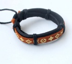 LV  LOUIS VUITTON  Tribal Leather Bracelets