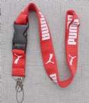 Puma Lanyard Red White