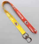Kansas City Chiefs/KC lanyard