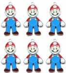 Super Mario DIY Metal Charms Jewelry Making pendants