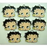 Betty Boop Head DIY Metal Charms Jewelry Making