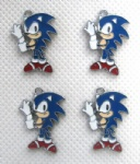 Sonic Figures Charms Pendants