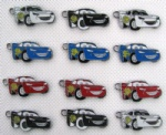 Pixar Car 95 PHONE CHARMS Jewelry Metal Pendants