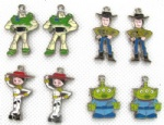 Toy Story Alloy Enamel Pendants
