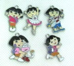 Dora mobile phone charms pendants