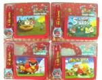 Angry Birds wrist watches + Purse wallets