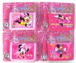 Minnie Mouse Watch Wristwatch Wallet Purse