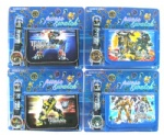 Transformers Children Wallet & Kids Watch Gift Set