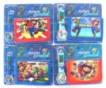 Super Mario Bros Kids Watch & Money Purse Wallet