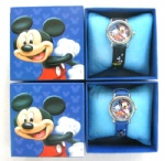 Mickey mouse Cartoon Girls Kids Children Wrist Watch Gift